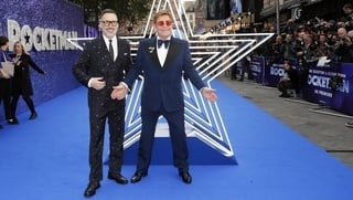 David Furnish a Elton John