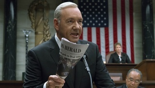 Kevin Spacey v seriáli House of Cards