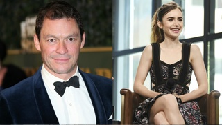Dominic West a Lily Collins