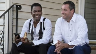 Adam Sandler a Chris Rock v snímke The Week Of