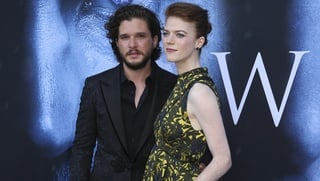 Kit Harington a Rose Leslie na premiére 7. série Game of Thrones v Los Angeles.