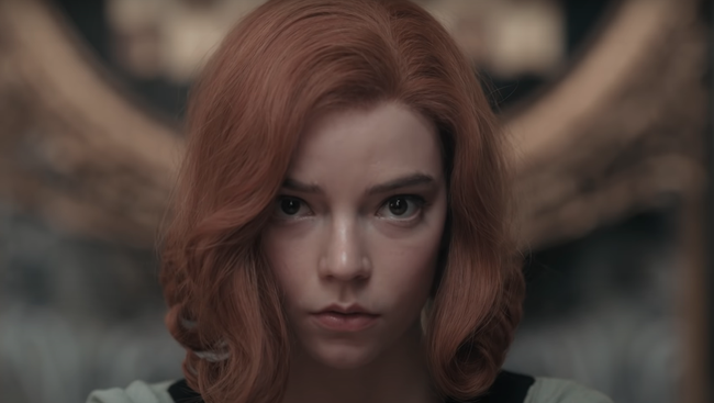 Anya Taylor-Joy v seriáli The Queen's Gambit