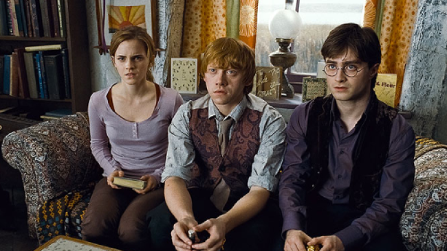 Hermiona, Ron a Harry