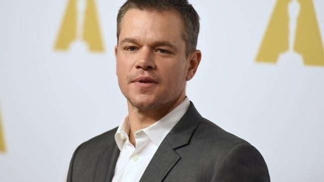 Matt Damon - Matt Damon will eine Welt hinterlassen,