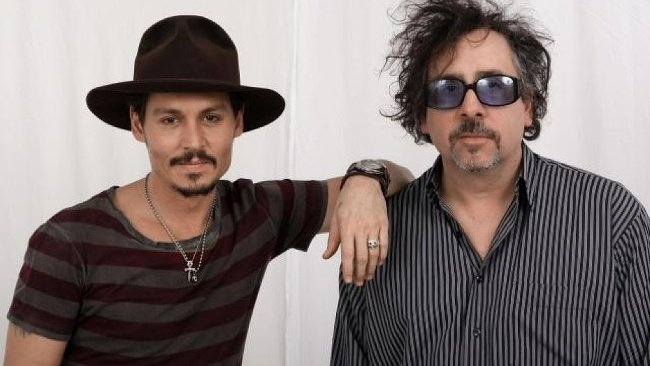 Tim Burton a Johnny Depp