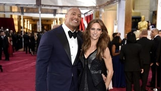 Dwayne Johnson a Lauren Hashian