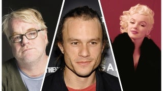Zľava: Philip Seymour Hoffman, Heath Ledger a Marilyn Monroe
