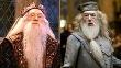 Dvaja herci hrajúci Dumbledorea