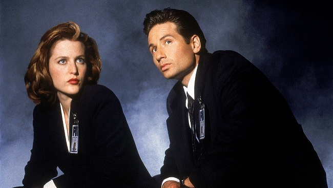 Gillian Anderson a David Duchovny v Aktoch X