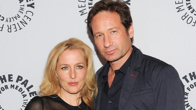 Gillian Anderson a David Duchovny
