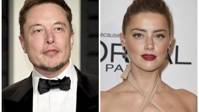 Amber Heard a Elon