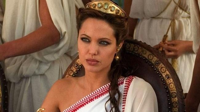 Alexander Veľký, Angelina Jolie