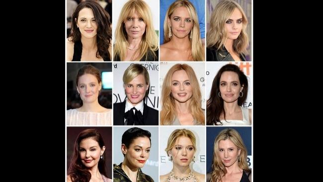 (Zhora zľava) Ženy, ktoré