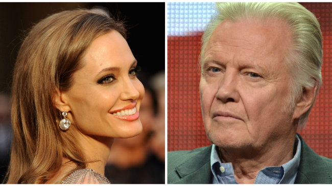 Angelina Jolie a Jon Voight