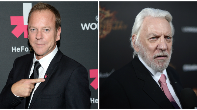 Kiefer Sutherland a Donald Sutherland