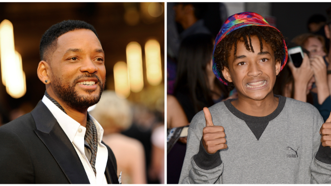 Will Smith a Jaden Smith