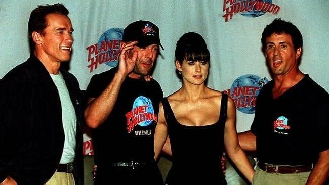 Schwarzenegger, Willis, Moore, Stallone