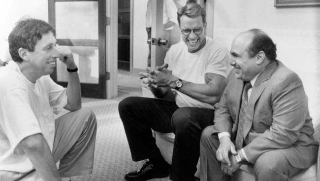 Ivan Reitman, Arnold Schwarzenegger a Danny DeVito