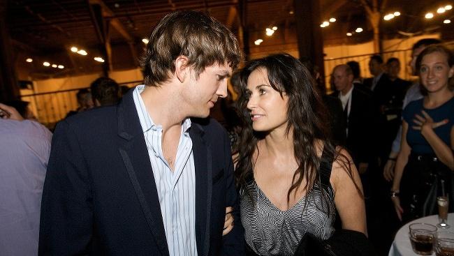 Ashton Kutcher a Demi