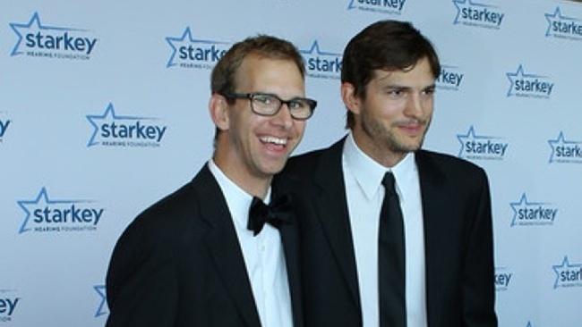 Ashton Kutcher a Michael Kutcher