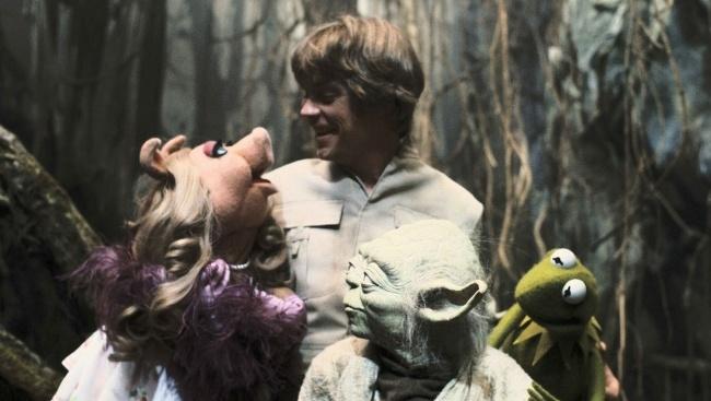 Zákulisné scény z filmu Hviezdne vojny