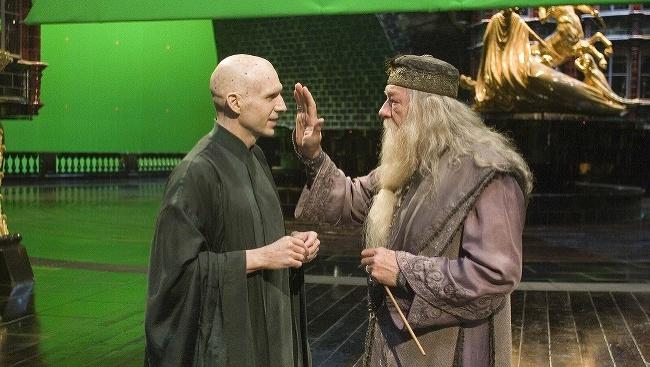 Zákulisné scény z filmu Harry Potter