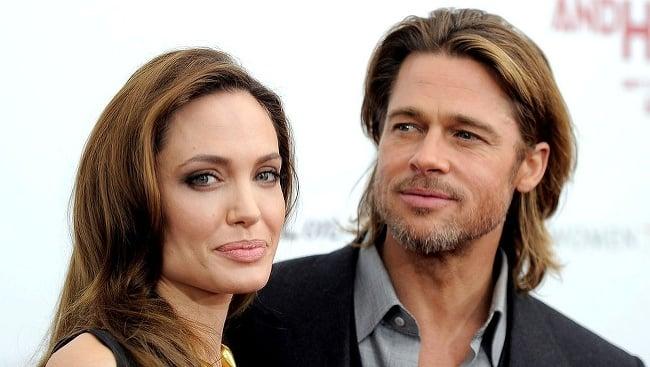 Angelina Jolieová a Brad