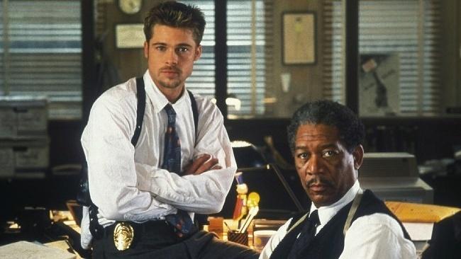 Sedem, Brad Pitt, Morgan Freeman