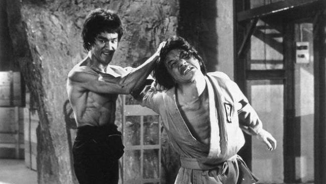 Bruce Lee a Jackie Chan
