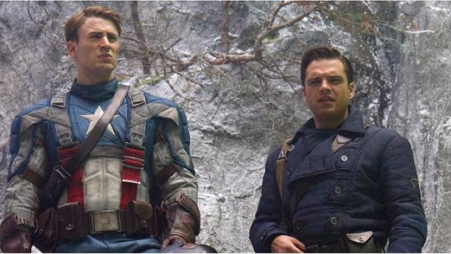 Bucky Barnes Kapitán Amerika