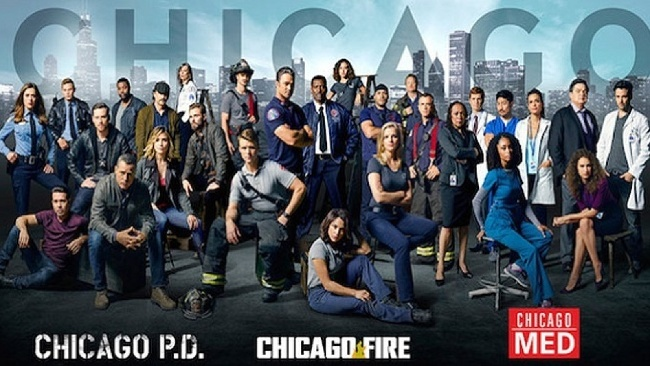 Chicago fire, Chicago PD,