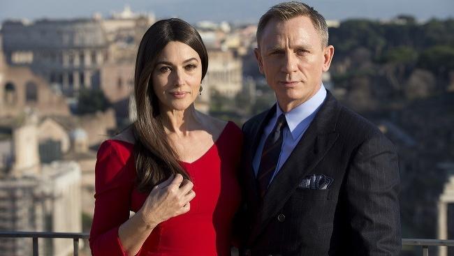 Monica Bellucci a Daniel Craig