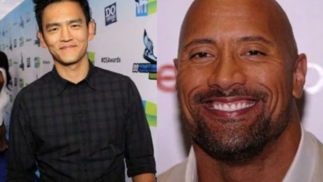 John Cho a Dwayne Johnson