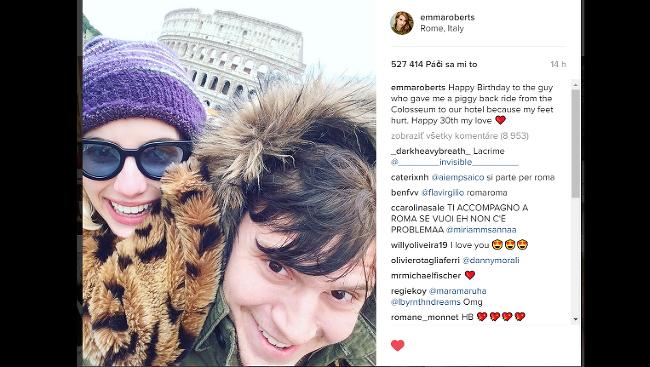 6fc1f1cdb Emma sa o tento zážitok podelila so svojimi fanúšikmi na Instagrame.
