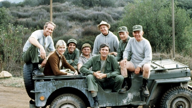 Gary Burghoff so seriálovými kolegami