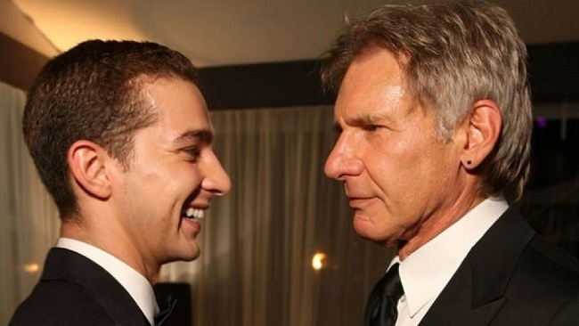 Harrison Ford, Shia LaBeouf