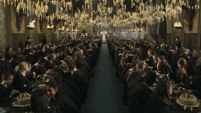 Veľká sieň z Harryho Pottera