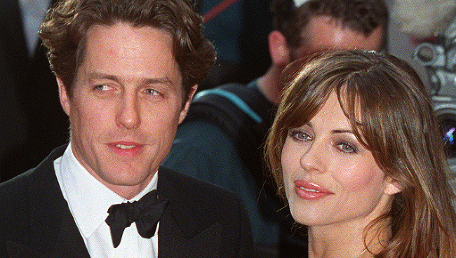 Hugh Grant a Elizabeth Hurley