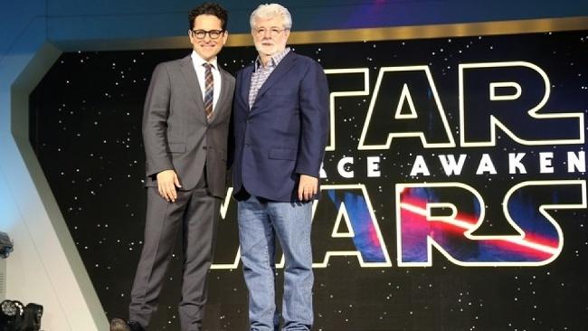 J.J. Abrams a Lucas