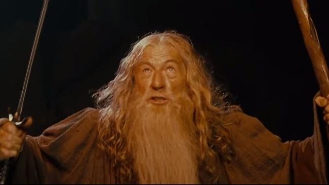 Gandalf v jednej z