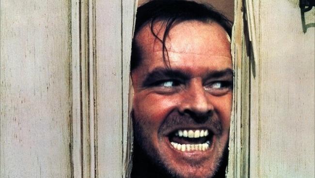 Jack Nicholson v Osvietení