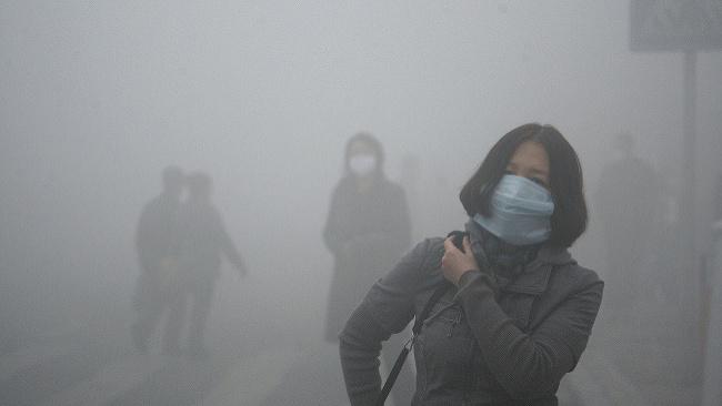 V Pekingu nezriedka panuje takáto situácia