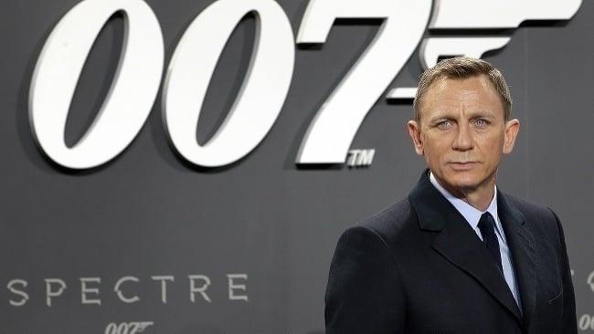 Daniel Craig na premiérie