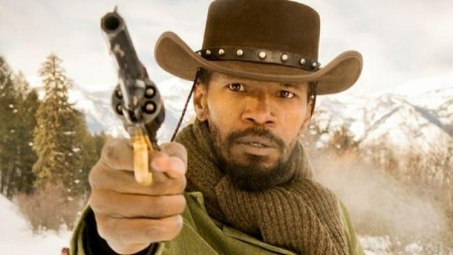 Jamie Foxx ako Django