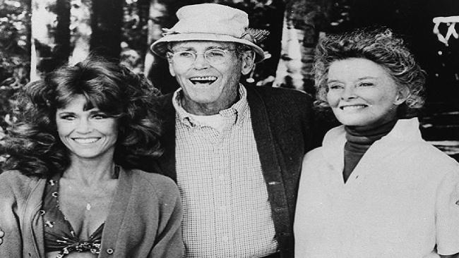 Jane Fonda, Henry Fonda,