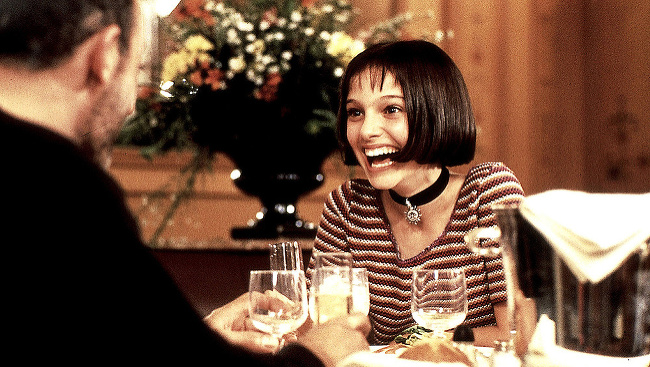 Jean Reno a Natalie Portmanová v Leon