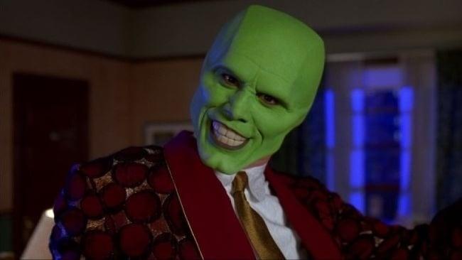 Jim Carrey vo filme Maska