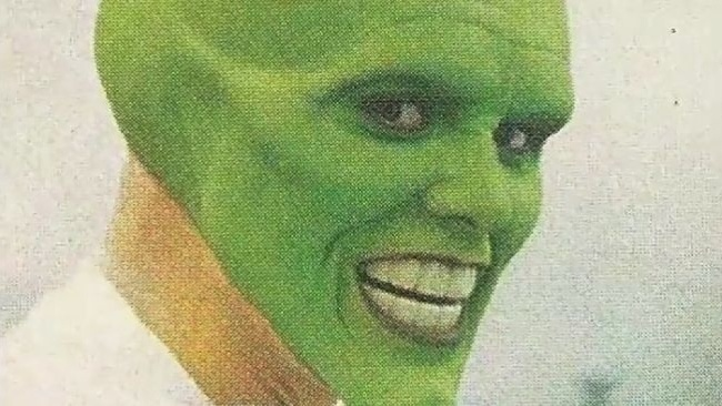 Jim Carrey ako Maska