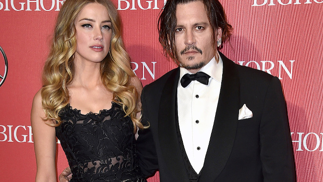 Johnny Depp a Amber