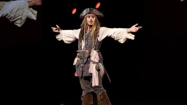 Johnny Depp na D23